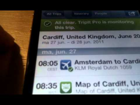 TripIt for iPhone time zone bug