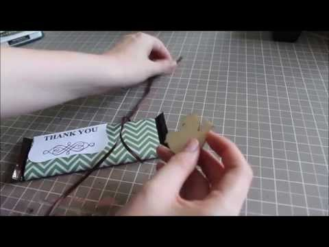 DIY Candy Bar Wrappers // Easy Gift