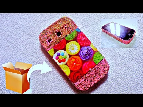 DIY Phone Case Out of Cardboard * How to Make a Phone Case at Home