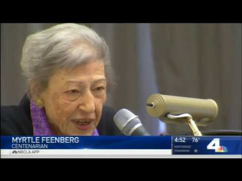 Centenarian Celebration - NBC 4 News