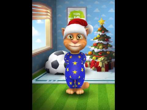 [My Talking Tom] A Christmas rap song