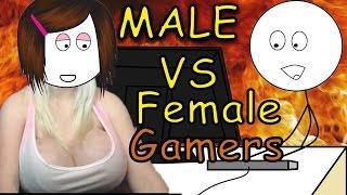 Male vs Female Gamers (Boy vs Girl Gamers)