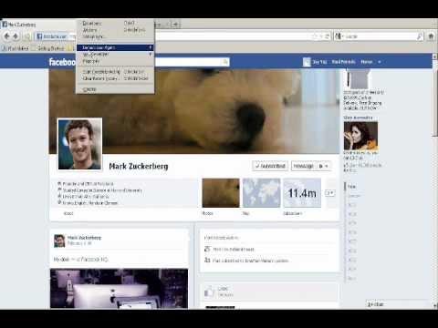 Remove Facebook Timeline : Mark Zuckerberg's wall