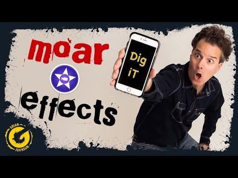 iMovie iPhone Effects - TV Glitch Effect / iPad / iOS