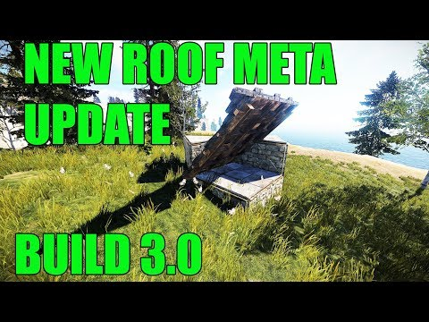 RUST New Roof Meta Build 3.0 - Rust base building