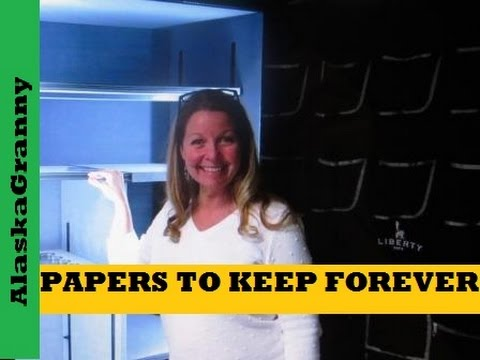 What Papers and Documents To Keep Forever