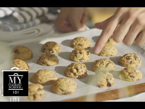 Chocolate Chip Cookies : Thick & Cakey