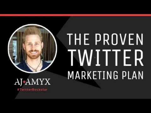 FREE Twitter Marketing Webinar with Aj Amyx - October 1st, 2015 - Social Media