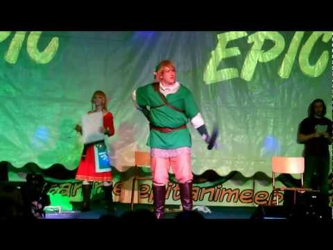 Epitanime 2012 Cosplay (Samedi soir) - Legend of Zelda Skyward Sword - Link & Zelda