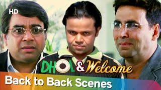 Dhol Welcome Back 2 Back Hindi Comedy Scenes Rajpal Yadav Ak