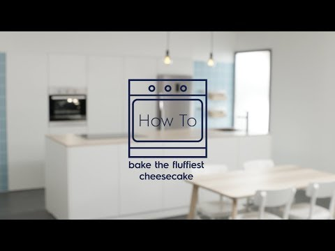 How to Bake the Fluffiest Cheesecake Recipe - Electrolux SG