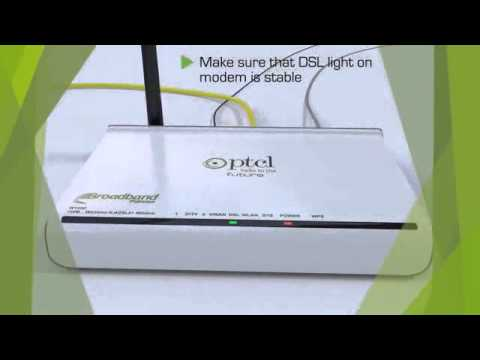 LAN Settings in PTCL Tenda W150D Modem on Vimeo clip2