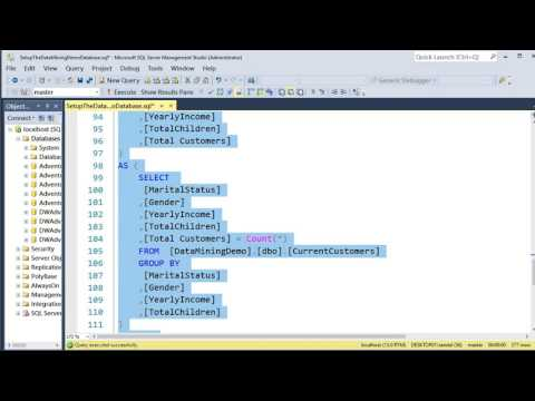 SSAS Data Mining Overview