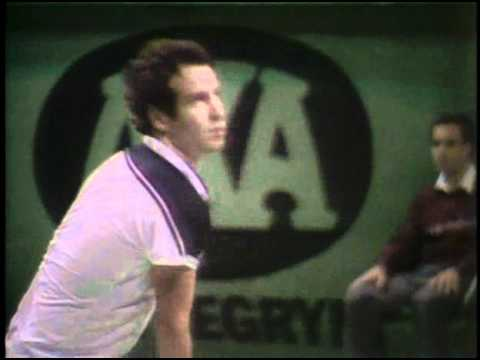 John McEnroe's most famous outburst happened in Stockholm in 1984