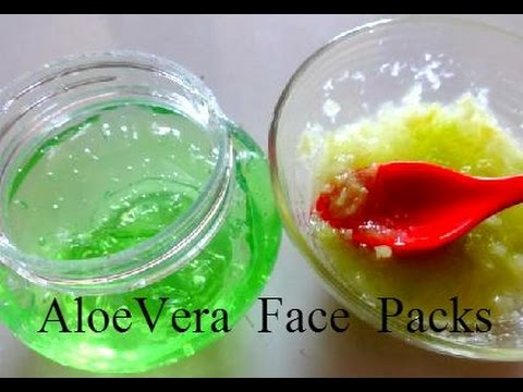 Aloe Vera Face Packs to Remove Dark Spots, Acne Scars & Pimple Marks