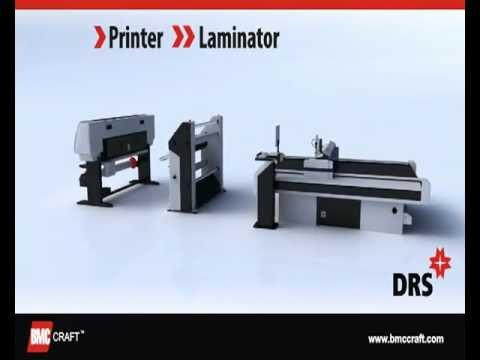 DRS - Digital Road Sign Fabrication System (Printer, Laminator, Cutter)  2