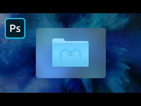 Custom Mac Icons in Photoshop | 2 Minute Tutorial