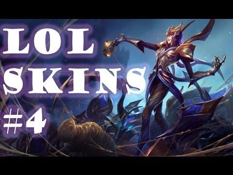 League Of Legends SKINS 4: