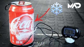 Chill coke with AIR (Coke Experiment)