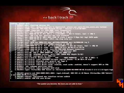 BackTrack 5 Use in CD Live without install