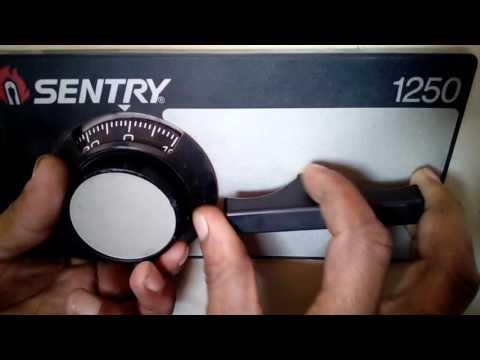 Caja de seguridad sentry 1250