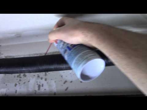 How to fix a stuck or noisy garage door.
