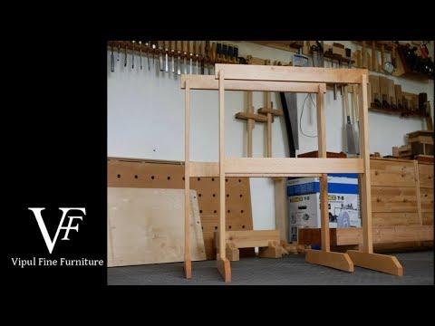 Krenov style sawhorses (4K)