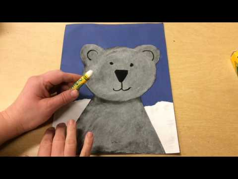 Creating the Background for your Polar Bear