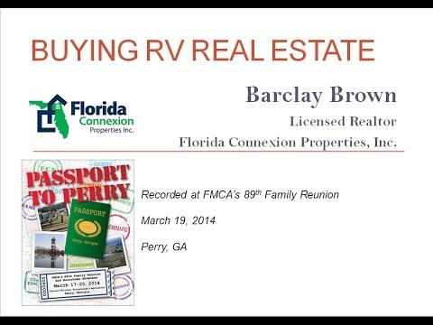 Buying RV Real Estate   FMCA 3 19 14