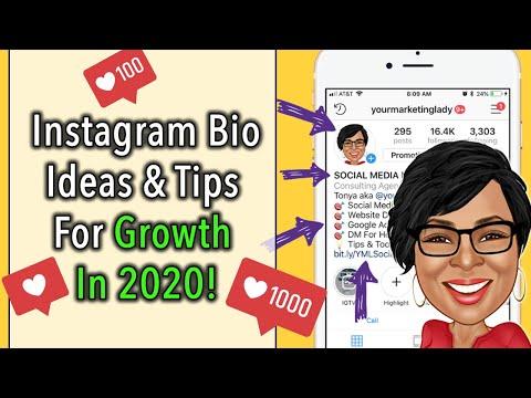 Instagram Bio Tricks [2018] Instagram Marketing Strategies