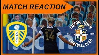Match Reaction Leeds United vs Luton Town - Championship 19/20 - SIMON SLUGA WAS UNBELIEVABLE!