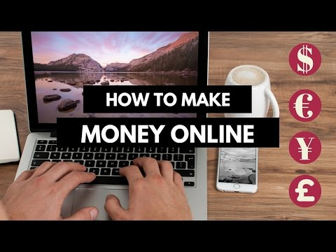 How To Make Money Online - 5 Legit Ways