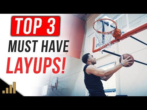 Top 3 Layups Every Player MUST HAVE To Score More Points!!! How to Shoot A Layup in Basketball