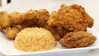 #x202b;طريقة عمل دجاج كنتاكي ( البروستد ) # 175#x202c;lrm;