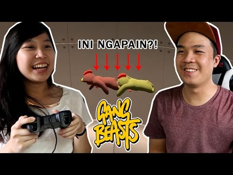 INI NGAPAIN SIH?! - Gang Beasts (with Valencia) [INDONESIA]