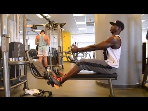 Get you back and shoulder pumped up with this workout by Tony Thomas Sports
