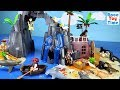 Playmobil Pirate Treasure Island Playset Build and Play with Sea Animals Toys For Kids