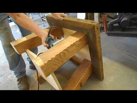 Making a Reclaimed Wood Side Table