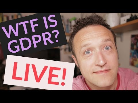 WTF is GDPR? Live Q & A
