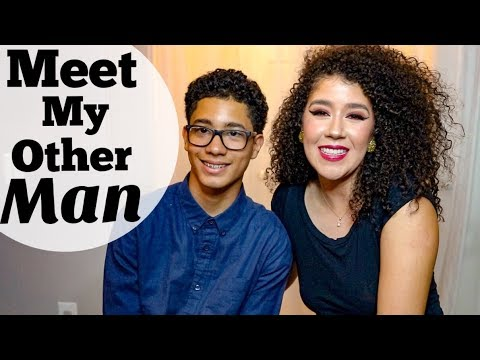 Meet My Other Man!   Get to Know Me Tag   Mother and Son