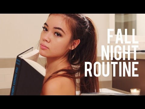 Fall Night Routine | viviannnv