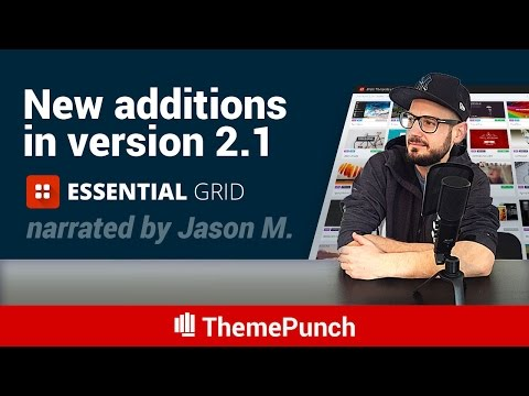 Essential Grid 2.1 Update
