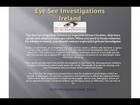 Private Investigator Ireland Detective Investigations p.i