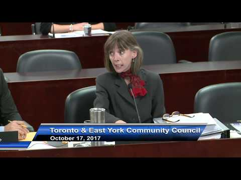 Toronto and East York Community Council - October 17, 2017 - Part 2 of 2