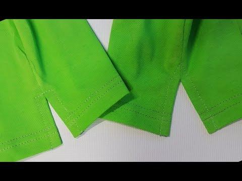 EASY DIY. How To Sew a Slit in the sleeve, side of the blouse, pants leg. Jak Uszyć Rozpierdak