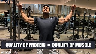 Quality of Protein = Quality of Muscle | Info by Guru Mann