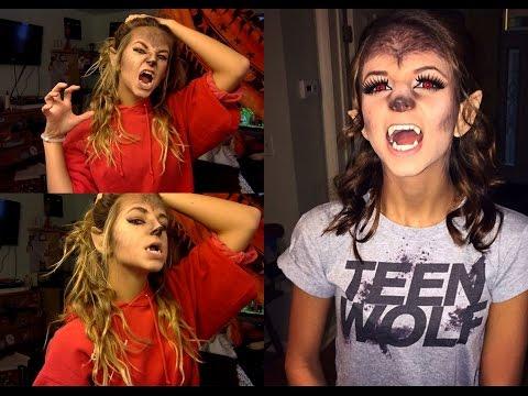 Happy Halloween!-Teen Wolf/Werewolf (MAKEUP TUTORIAL)