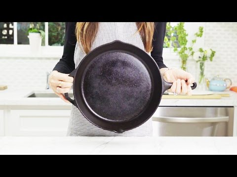 How to Clean and Season a Cast-Iron Pan