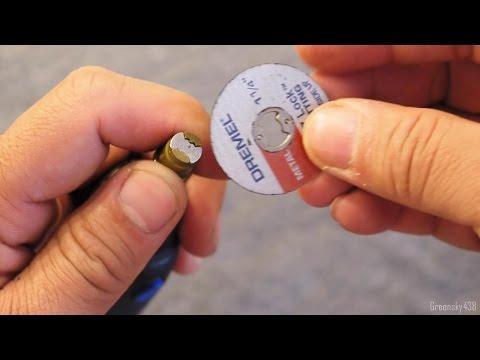 How to install Dremel EZ Lock Cutting Wheel on EZ Mandrel