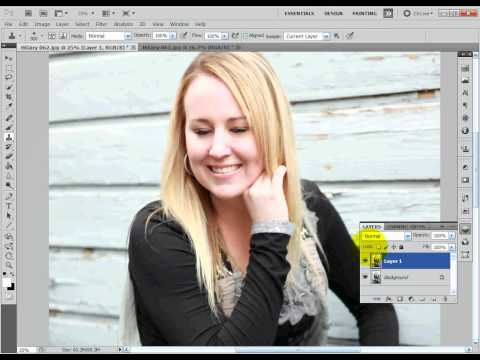 How To Open Eyes In Photoshop